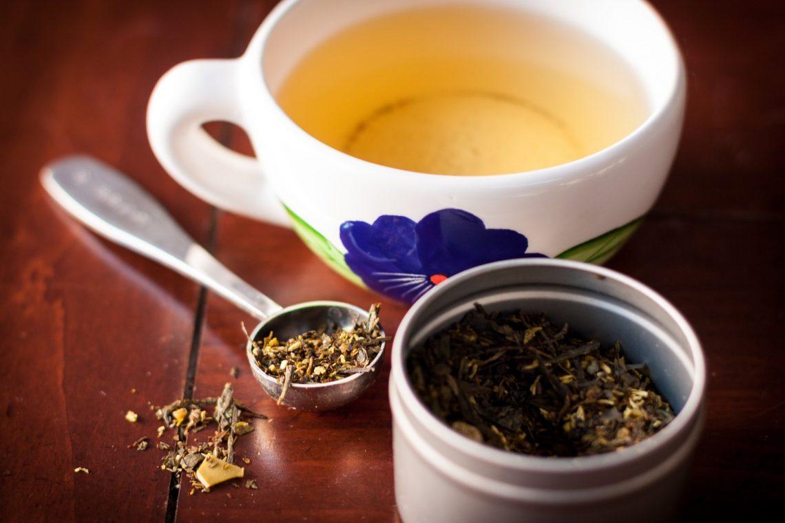 Příprava zeleného čaje