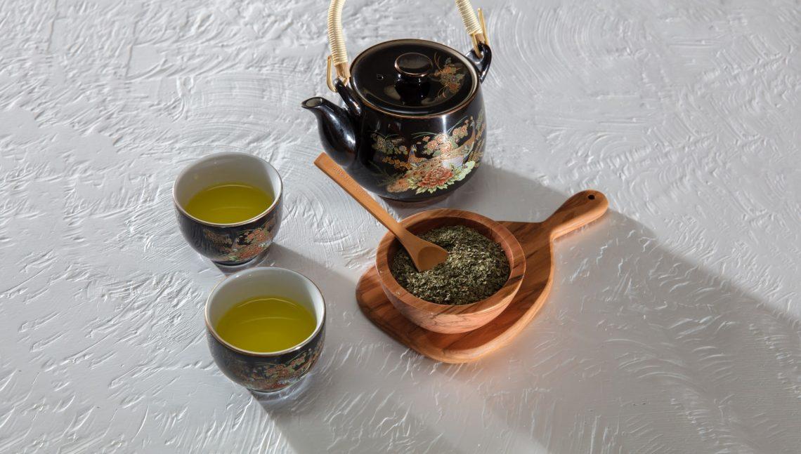 Zelený čaj a kofein