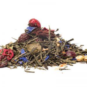 Brusinkovo - Kaktusový - Zelený Čaj